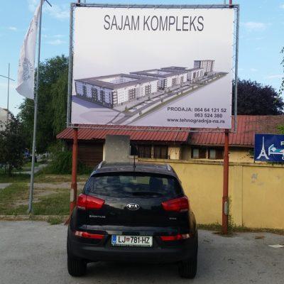 Izrada reklamnih cerada Novi Sad