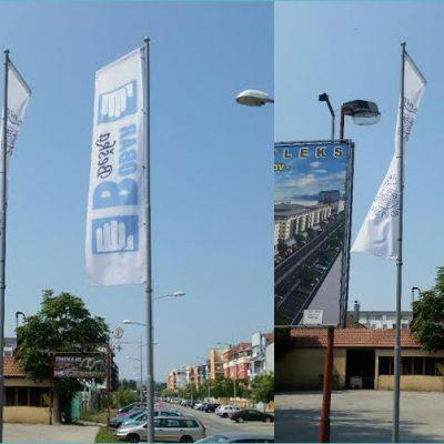 Reklamna zastava - Štampa velikih formata